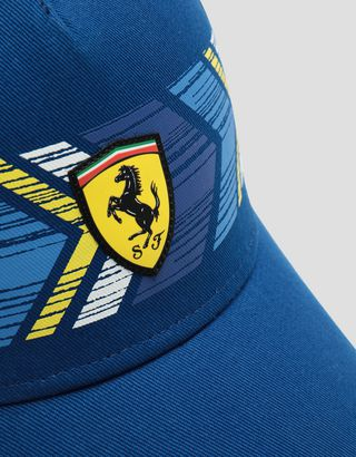 Scuderia Ferrari Online Store - Children's baseball cap with colored print - Baseball Caps