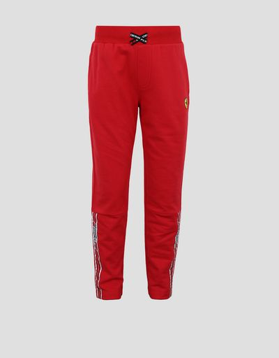 Pantaloni jogging bambino con Icon Tape