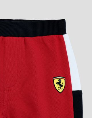 Scuderia Ferrari Online Store - Infant's cotton fleece joggers - Joggers