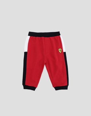 Scuderia Ferrari Online Store - Infants' cotton fleece sweatpants - Joggers