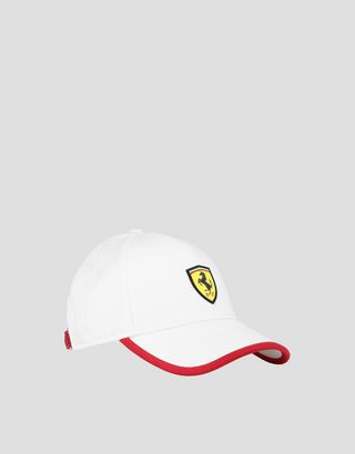 Scuderia Ferrari Online Store - Children's baseball cap with SF POWERFUL print - Baseball Caps