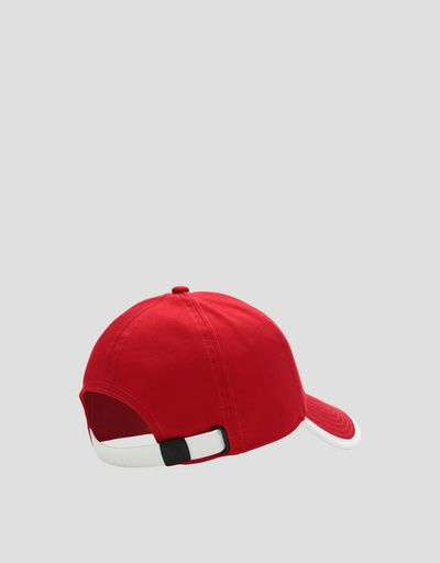 Scuderia Ferrari Online Store - Children's baseball cap with SF POWERFUL print - Baseball Caps