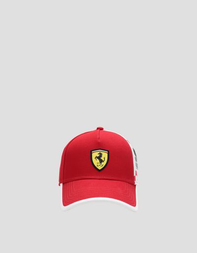 Children's baseball cap with SF POWERFUL print