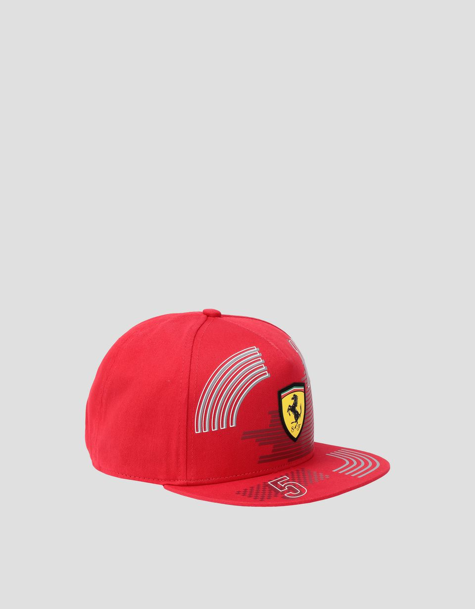 Scuderia Ferrari Online Store - Children's cap with flat peak - Baseball Caps