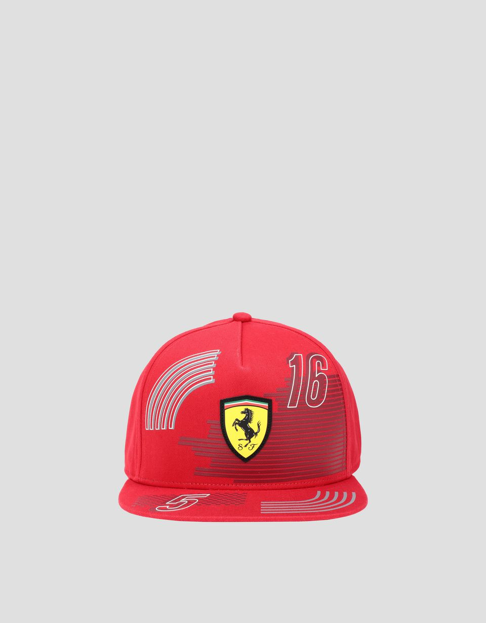 Scuderia Ferrari Online Store - Children's cap with flat peak -
