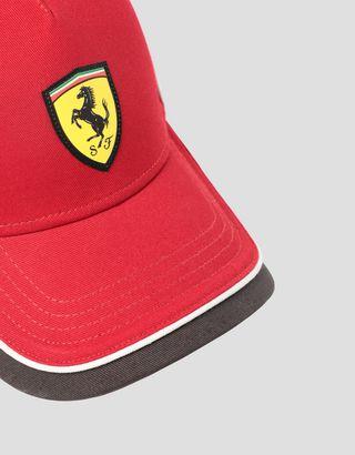 Scuderia Ferrari Online Store - Children's cap with SUPER FAST print - Baseball Caps