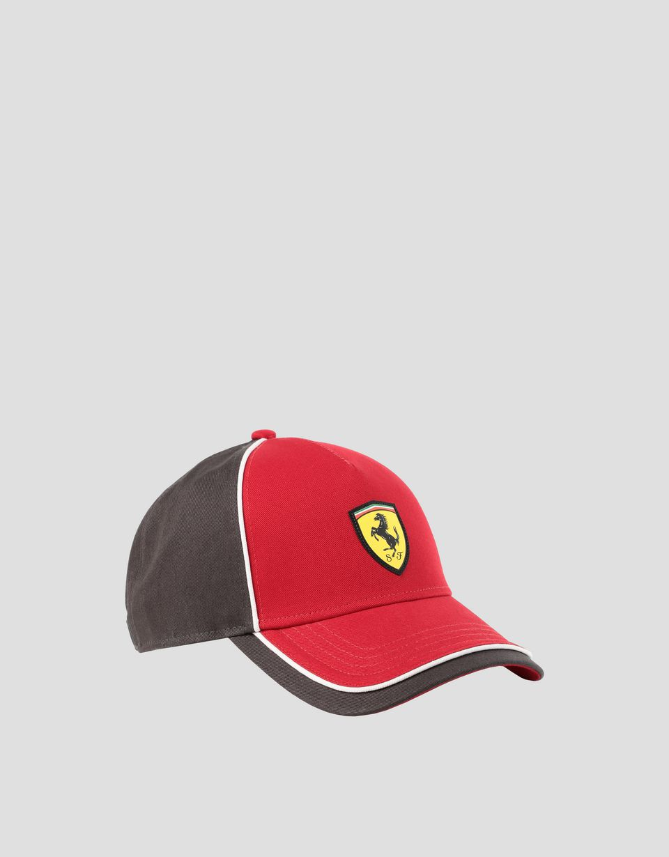 Scuderia Ferrari Online Store - Children's baseball cap with SUPER FAST print - Baseball Caps