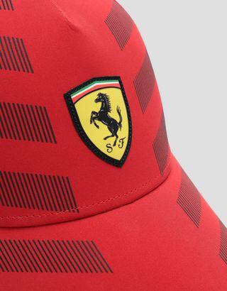 Scuderia Ferrari Online Store - Men's baseball cap with reflective inserts - Baseball Caps