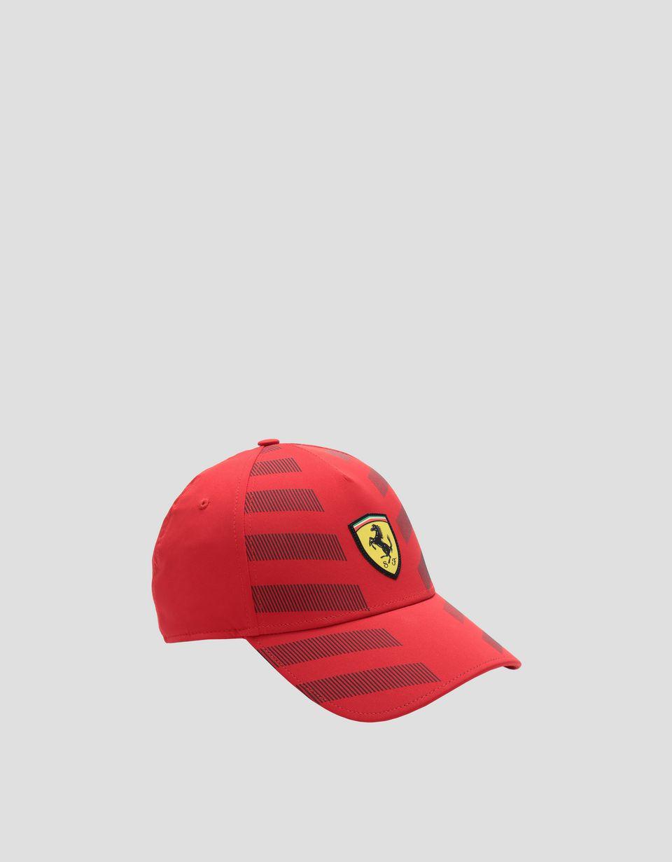 Scuderia Ferrari Online Store - Cappellino uomo con inserti riflettenti - Cappellini da Baseball