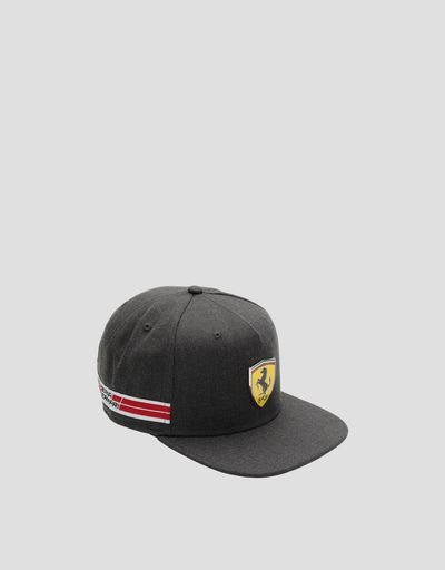 Men's hat with flat peak and Icon Tape