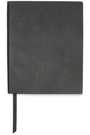 SMYTHSON Textured-leather notebook