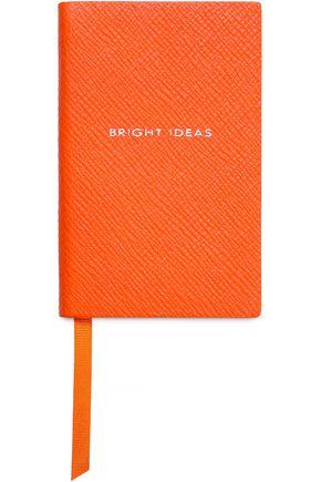 SMYTHSON Panama Bright Ideas textured-leather notebook