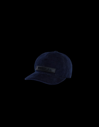 BASEBALL HAT Dark blue Category BEANIES Man