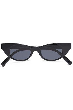 ADAM SELMAN x LE SPECS The Breaker cat-eye acetate sunglasses