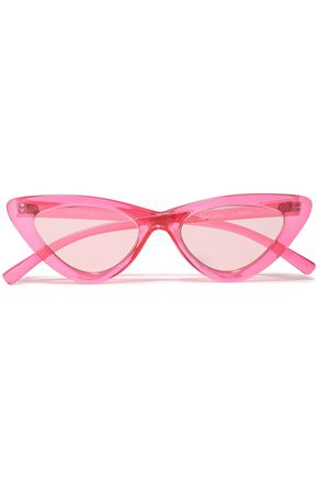 "ADAM SELMAN x LE SPECS نظارات شمسية على شكل عيني القطة ""ذي لاست لوليتا"" من الأسيتات"