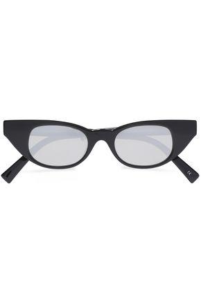 ADAM SELMAN x LE SPECS + Adam Selman The Breaker cat-eye acetate sunglasses