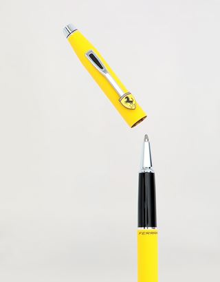 Scuderia Ferrari Online Store - Cross Classic Century Collection roller ball pen for Scuderia Ferrari in Modena yellow - Roller Pens