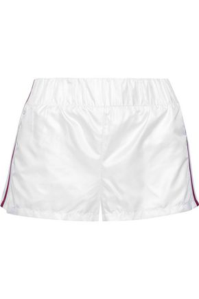 KORAL Sway striped shell shorts