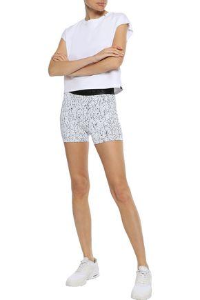 KORAL Surge stretch-jacquard shorts