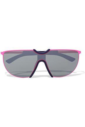 MYKITA D-frame metal mirrored sunglasses