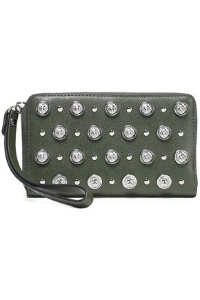 VERSUS VERSACE Studded leather wallet
