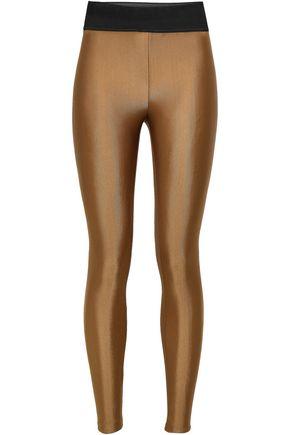 KORAL Metallic stretch leggings