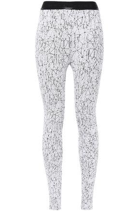 KORAL Printed stretch-knit leggings