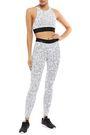 KORAL Stretch jacquard-knit leggings