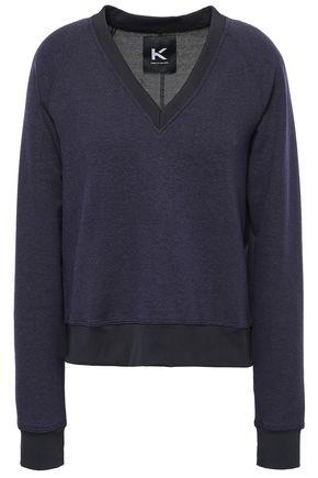 KORAL Zip-detailed stretch-jersey sweatshirt
