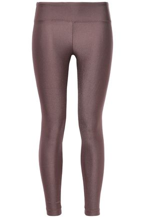 KORAL Drive metallic stretch leggings