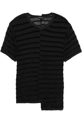 KORAL Asymmetric jersey top
