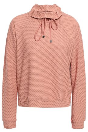 KORAL Stretch--mesh sweatshirt