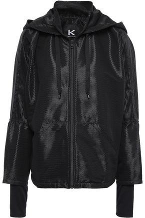 KORAL Mesh hooded jacket