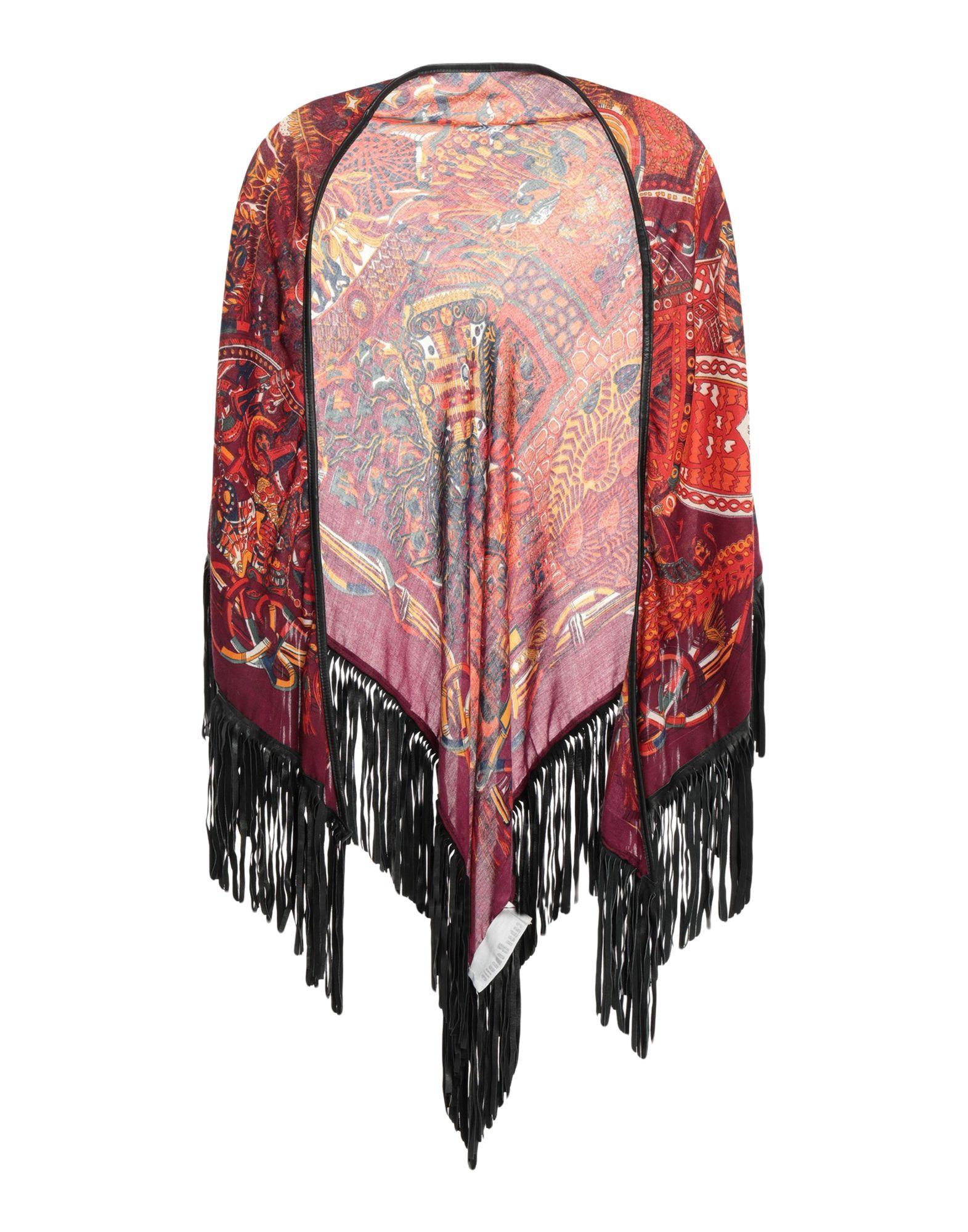 CABAN ROMANTIC Шаль павловопосадская шерстяная шаль с шелковой бахромой волшебный узор 148х148 см