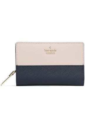 KATE SPADE New York Metallic leather wallet