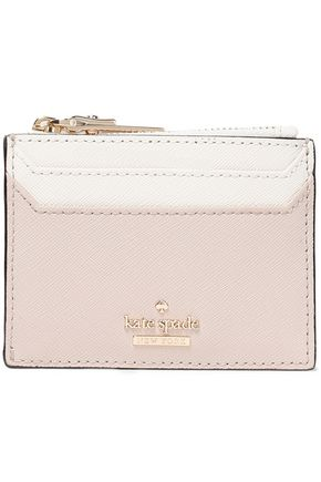 KATE SPADE New York Two-tone leather cardholder