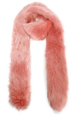 STAND STUDIO Faux fur scarf