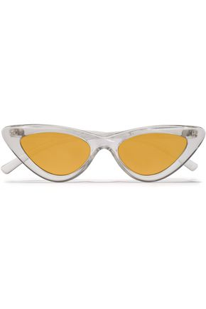 "ADAM SELMAN x LE SPECS نظارات شمسية ""+ لو سبيكس"" على شكل عيني القطة من الأسيتات"