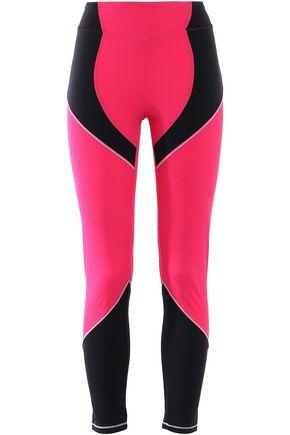 SÀPOPA Androide cropped two-tone stretch leggings