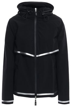 SÀPOPA Venezia metallic-trimmed shell hooded jacket