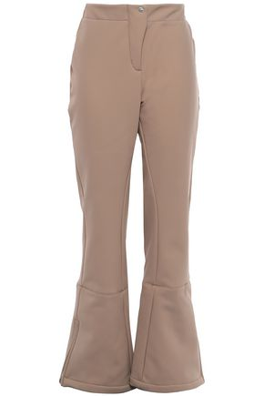 FUSALP Appliquéd shell flared pants