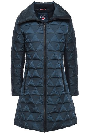FUSALP Appliquéd shell down jacket