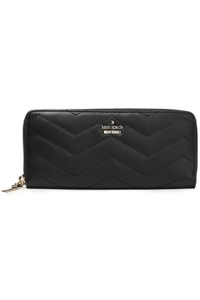 KATE SPADE New York Quilted leather wallet