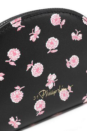 3.1 PHILLIP LIM Floral-print leather wallet