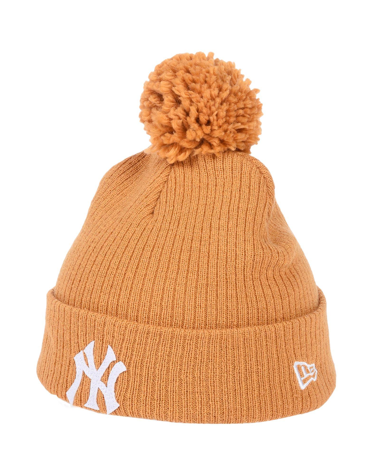 《期間限定 セール開催中》NEW ERA メンズ 帽子 キャメル one size アクリル 100%