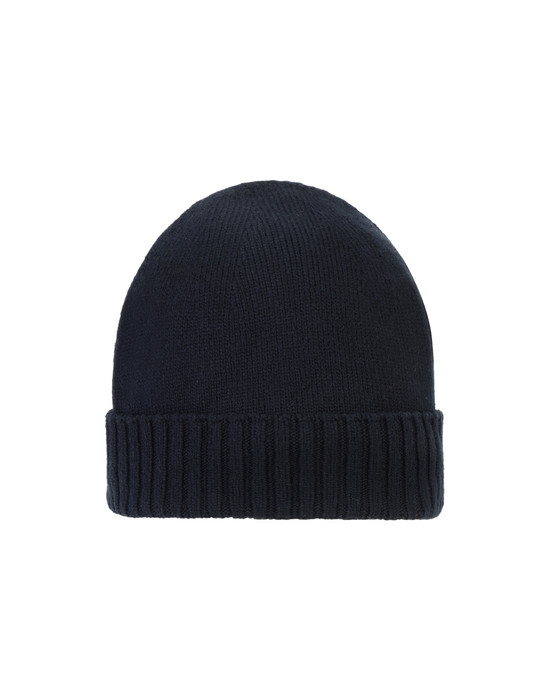 STONE ISLAND SHADOW PROJECT N03A3 EXTENDED BEANIE Hat Man Blue