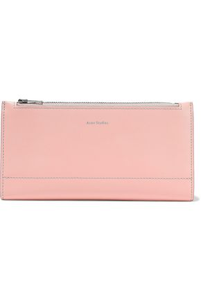 ACNE STUDIOS Leather continental wallet