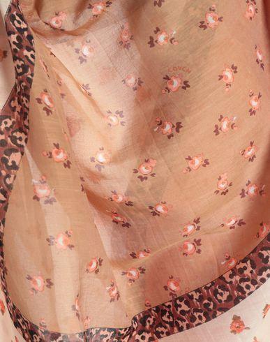 Фото 2 - Женский платок  розового цвета