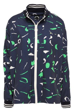 THE UPSIDE Printed shell jacket