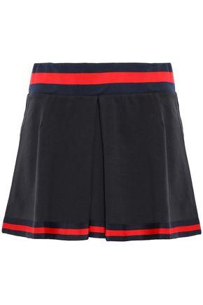 THE UPSIDE Pleated cotton-blend jersey tennis skirt